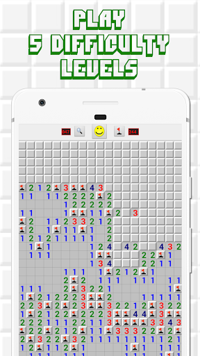 Minesweeper for Android - Free Mines Landmine Game 2.7.6 screenshots 2