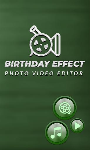 Birthday Photo Effect Video Maker with Song apktram screenshots 1