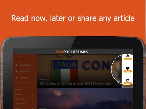 New Straits Times Mobile 2.10.9 screenshots 6