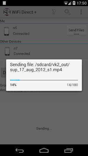 WiFi Direct + 7.0.40 screenshots 6