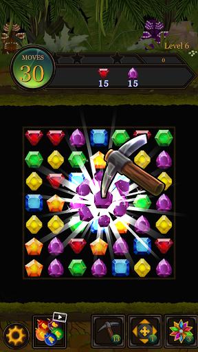 Secret Jungle Pop : Match 3 Jewels Puzzle Apkfinish screenshots 7