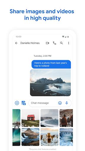 Messages screenshots 2