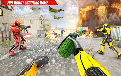 Robot Fps Shooting Games u2013 Fps Counter Strike Game 1.0.9 Screenshots 13