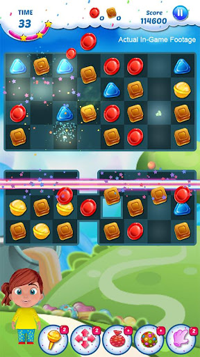 Gummy Candy - Match 3 Game 1.8 screenshots 10