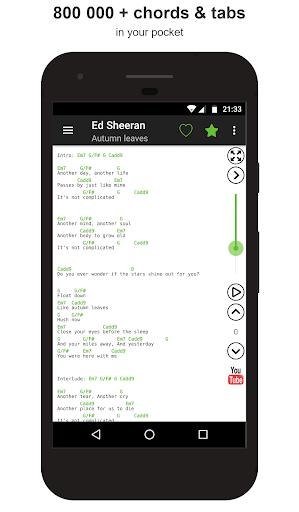 Guitar chords and tabs 2.10.4 screenshots 1
