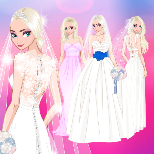 ❄ Icy Wedding ❄ Winter frozen Bride dress up game
