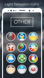 Light Sensation- Icon Pack 4.0.8 (Patched) 5