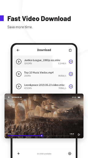 UC Browser Turbo- Fast Download, Secure, Ad Block 1.10.3.900 Screenshots 4