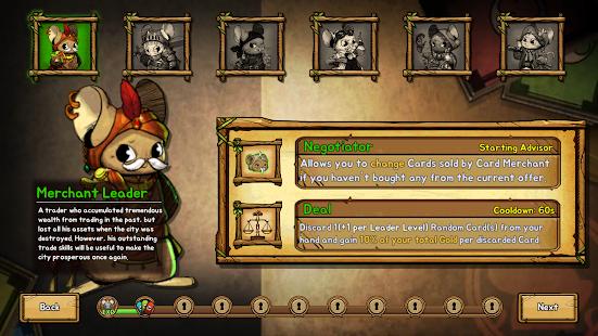 Ratropolis : CARD DEFENSE GAME screenshots 21