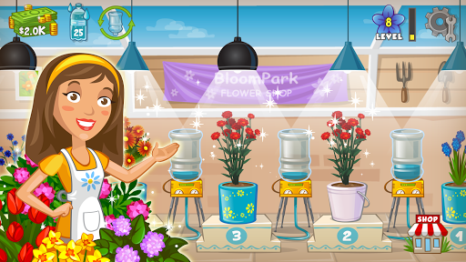 Flower Tycoon: Grow Blooms in your Greenhouse 1.9.9 screenshots 1