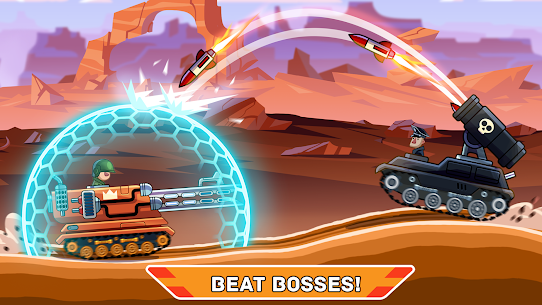 Hills of Steel MOD APK (Unlimited Coins) 2