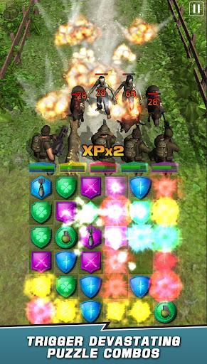 VDV MATCH 3 RPG: ZOMBIES! 1.7.008 screenshots 6