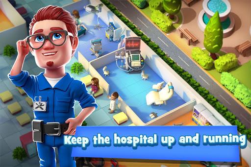 Dream Hospital - Health Care Manager Simulator apkpoly screenshots 3