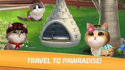 Meow Match: Cats Matching 3 Puzzle & Ball Blast Apkfinish screenshots 6