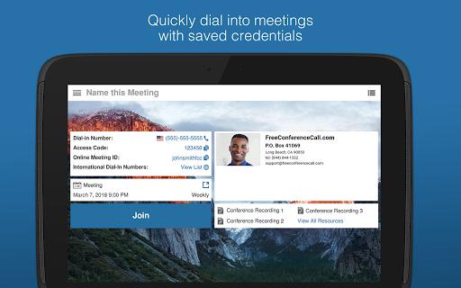 Free Conference Call screenshots 14