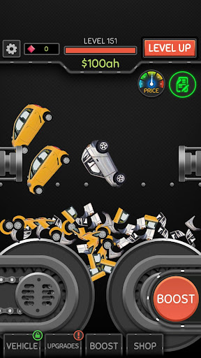 Idle Car Crusher  screenshots 1