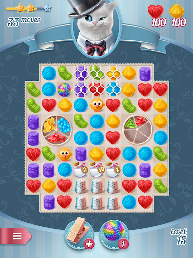 Knittens - A Fun Match 3 Game 1.47 screenshots 21