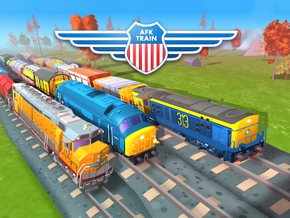 AFK Train Driver Sim