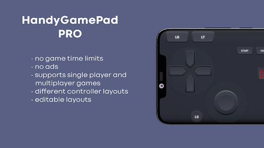 HandyGamePad PRO – mobile gamepad and joystick (MOD APK, Paid) v4.19-pro 3