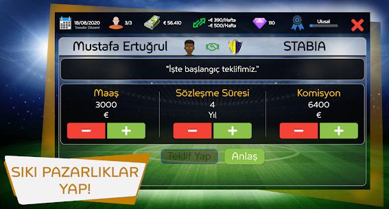 Mobile Football Agent – Futbolcu Menajeri 2021 Apk İndir 5