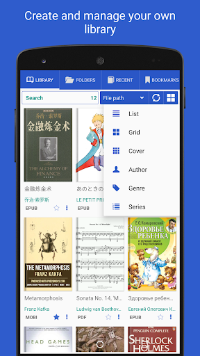 PDF Reader - for all docs and books  screenshots 1
