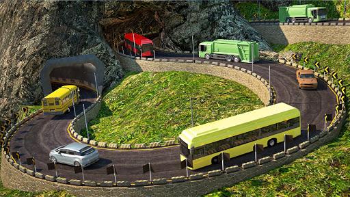 US Bus Hero: Off road Mountain Tourist Bus Drive  screenshots 2