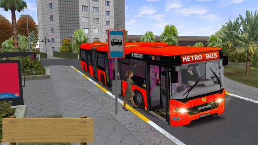 Metro Euro Bus Game 21:City Bus Drive Simulator 21  screenshots 4