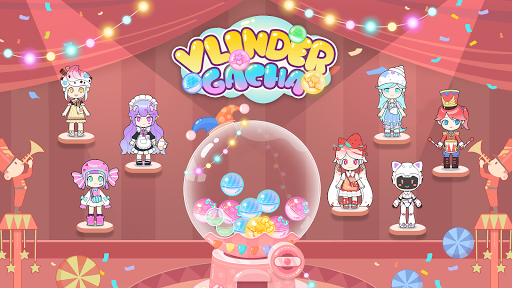 Vlinder Gachauff1aStylish Dressup Games 1.0.12 screenshots 1