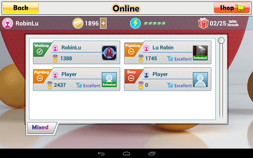 Virtual Table Tennis 2.2.0 screenshots 12
