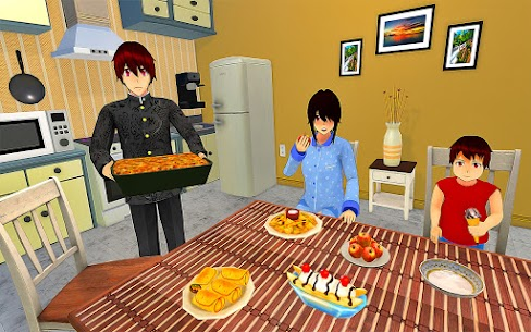 Anime Family Simulator Mod Apk (Unlimited Gold/Coin) 3