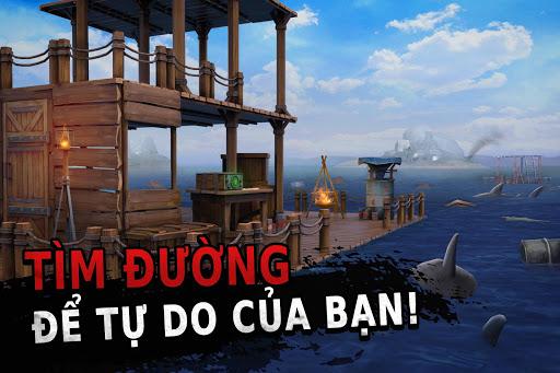 Raft Survival [Mod] Apk - Trò chơi sống còn Ocean Nomad