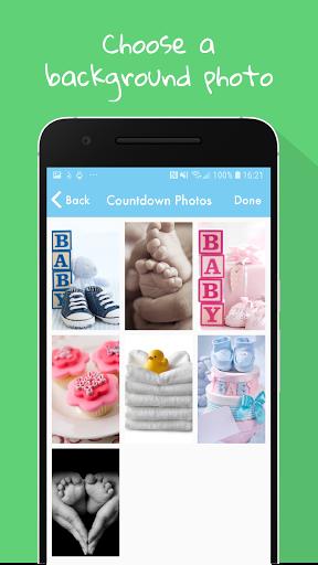 Baby Countdown Widget  Screenshots 3