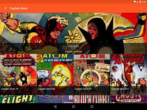 Astonishing Comic Reader  Screenshots 10