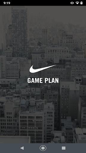 nike game plan screenshot 1