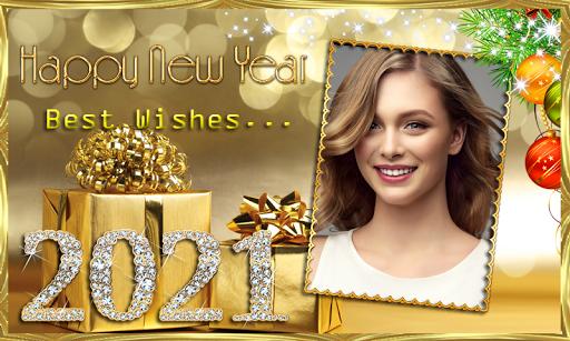 Happy New Year 2021 Photo Frames Greeting Wishes 1.0.1 Screenshots 11