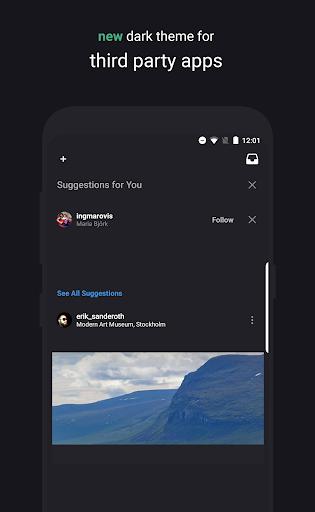 swift minimal for samsung - substratum theme screenshot 2