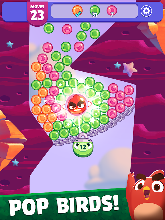 Angry Birds Dream Blast - Bubble Match Puzzle  poster 8