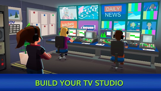 TV Empire Tycoon APK MOD HACK (Dinero Infinito) 1