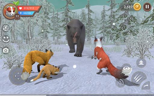 Code Triche WildCraft: Sim sauvage en ligne 3D (Astuce) APK MOD screenshots 3
