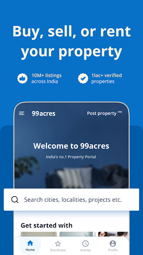 99acres Real Estate & Property android2mod screenshots 1
