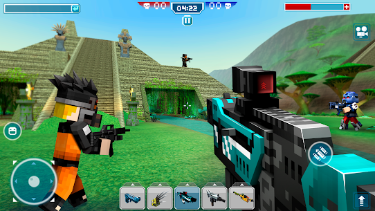 Blocky Cars – pixel shooter, tank wars 3