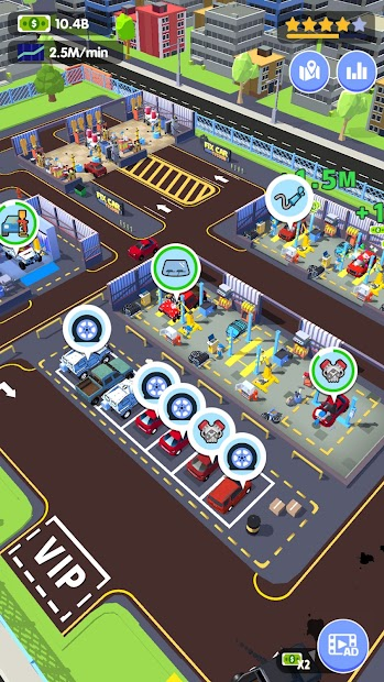 Car Fix Tycoon Android App Screenshot
