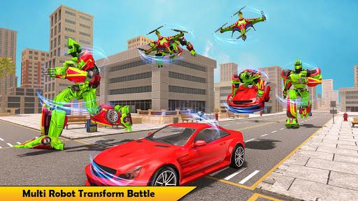 Drone Robot Transforming Game 2.3 screenshots 9