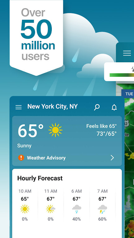 Weather & Snow Tracker: The Weather Channel  poster 0