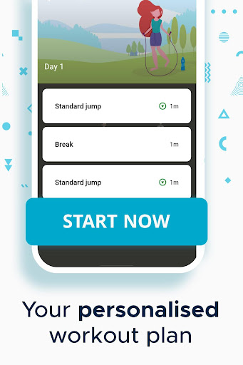 Foto do Jump rope workout and exercise app
