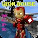 Minecraft PEのアイアンマンの家 - Androidアプリ