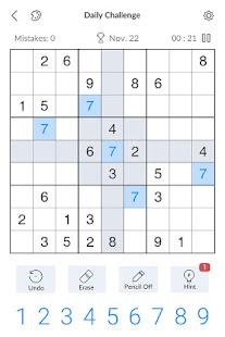 Sudoku - Free Classic Sudoku Puzzles screenshots 9