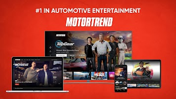 MotorTrend: Stream Roadkill, Top Gear, and more!