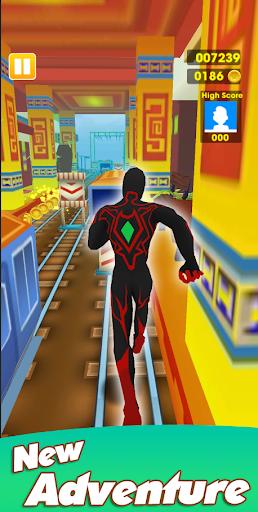 Super Heroes Run: Subway Runner 1.1.3 screenshots 3