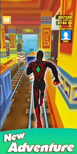 Super Heroes Run: Subway Runner 3